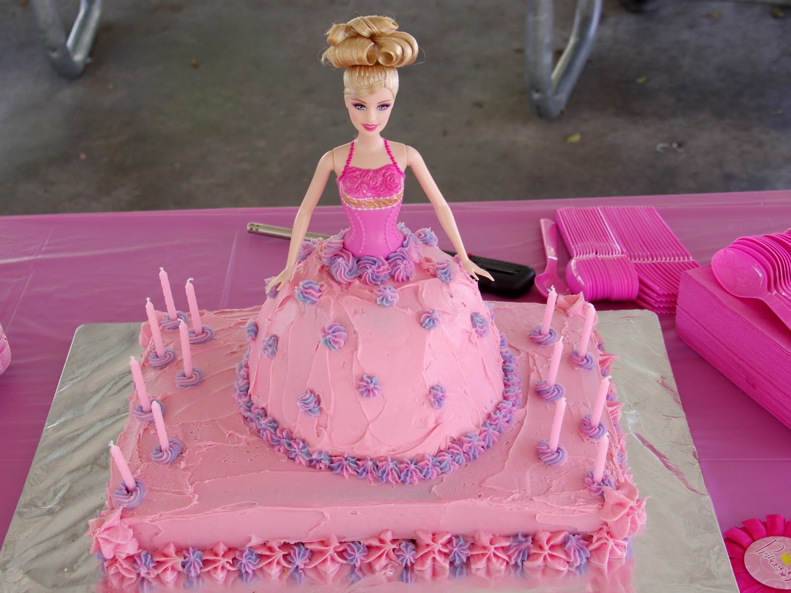 Barbie Doll Cake For Sale