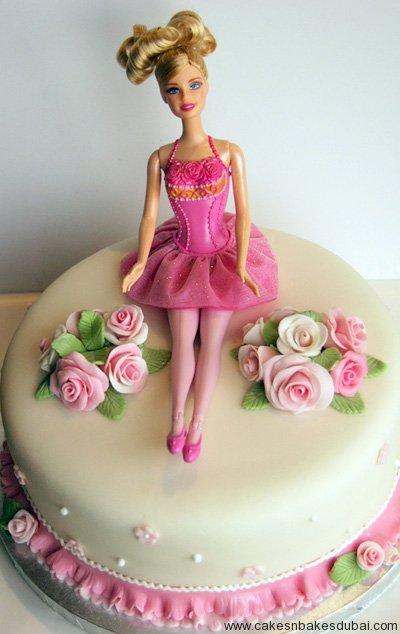 How To Make Barbie House Cake