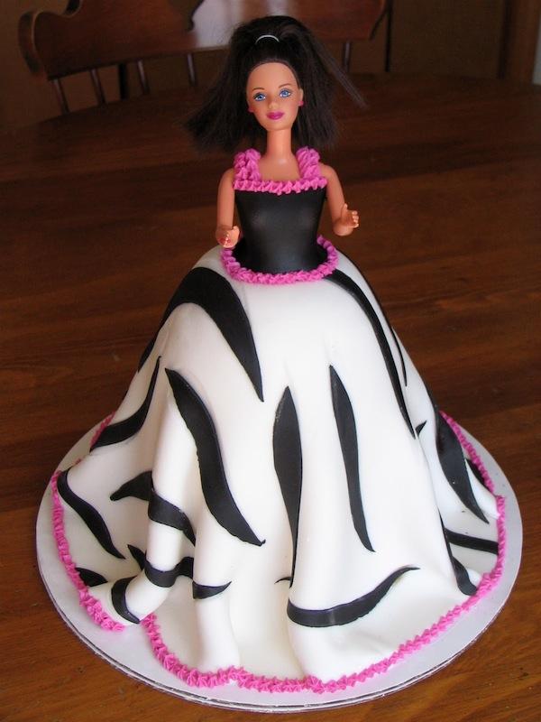 Black Forest Fondant Cake