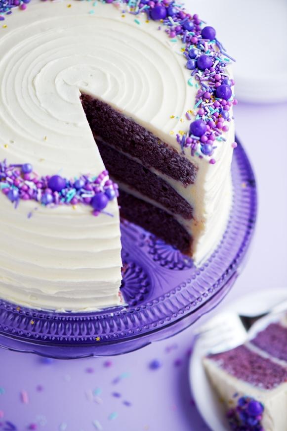 Purple Velvet Cake Trivandrum Cake House Tm Online